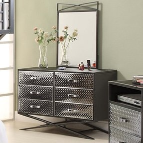 Chrome bedroom furniture 7