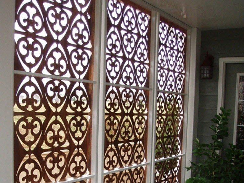 Decorative Lattice Panels Garden