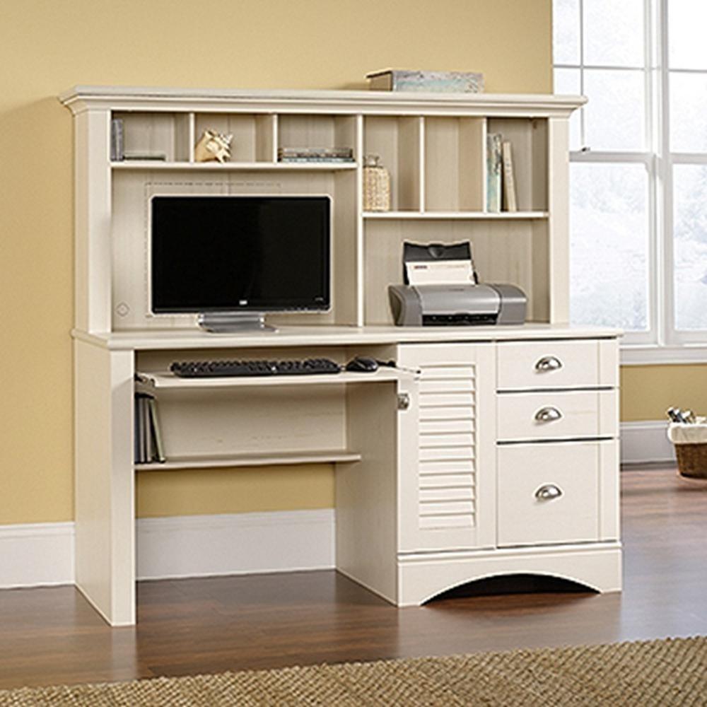 Desk With Lock Foter