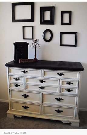 Distressed Painted Bedroom Furniture