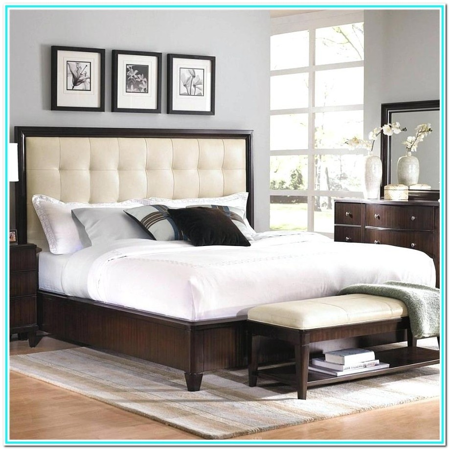 Tufted Headboard With Wood Frame   Ideas On Foter