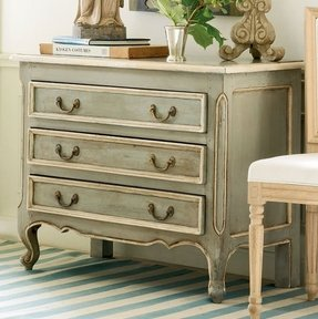 French nightstand bedside table