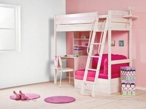 Futon bunk bed with desk 1