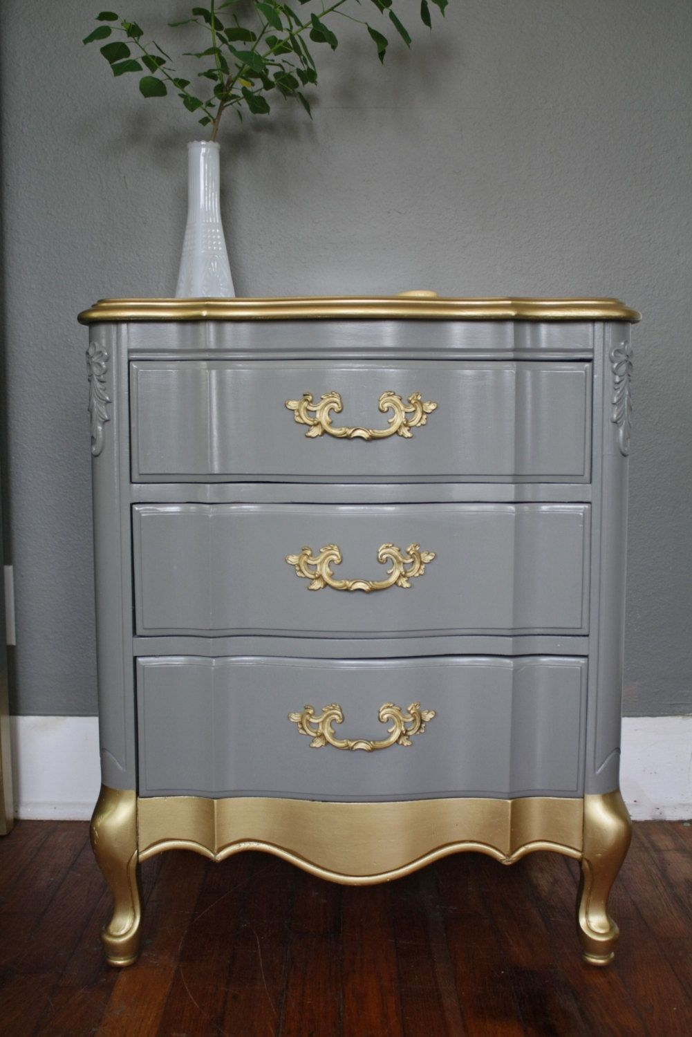 Gold Detail French Provincial Set