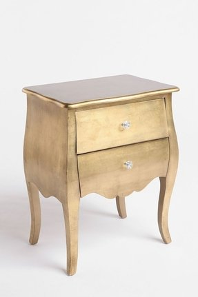 Gold nightstands 1