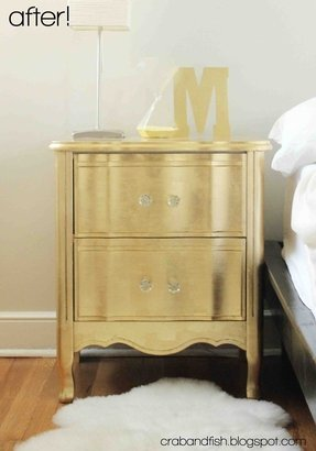 Gold side tables 2