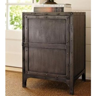 Hawkins industrial tool chest accent table