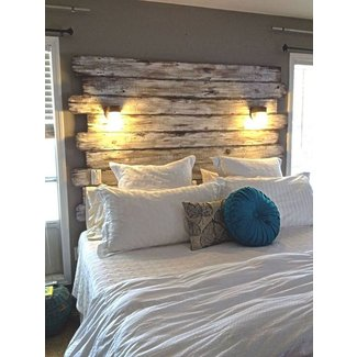 Wood headboards for king size beds ideas on foter - King size headboard ideas ...