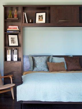 open shelf nightstand - foter Ladder Shelf Nightstand