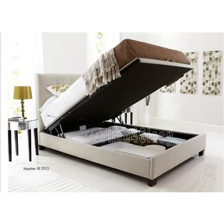 Leather Platform Bed With Storage