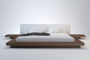Low profile king bed 3