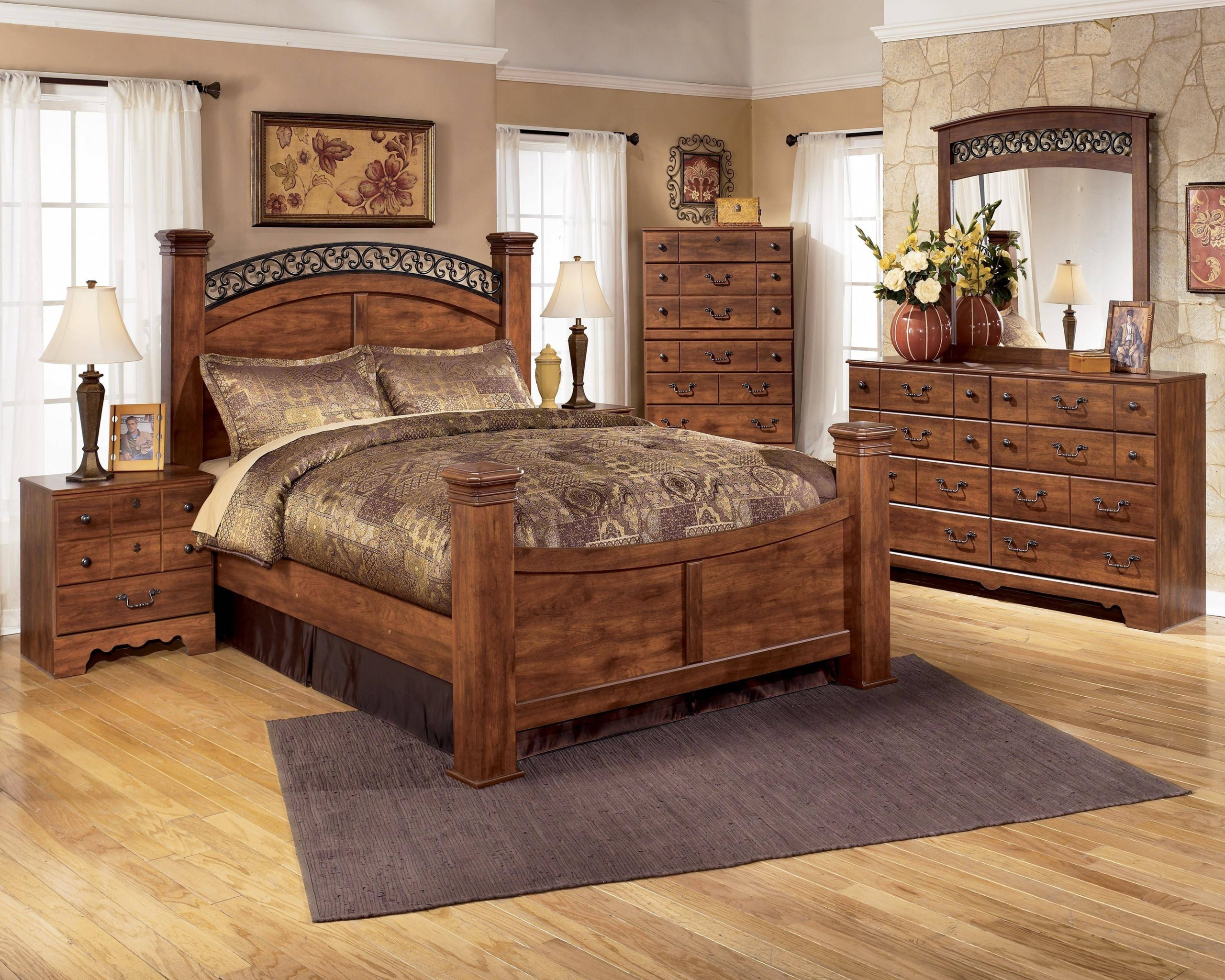 Beau Metal And Wood Bedroom Sets