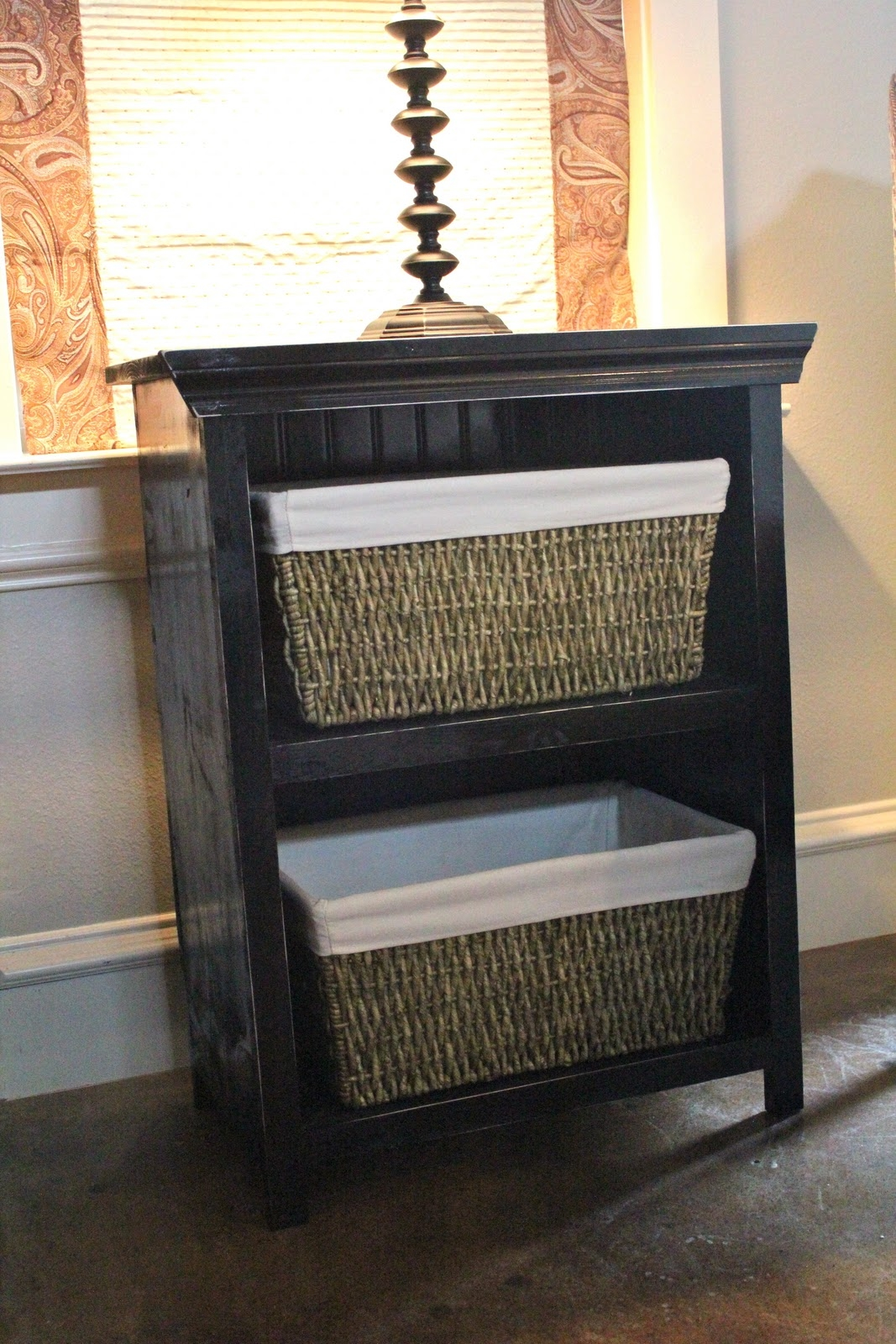 Milk Crate Side Table
