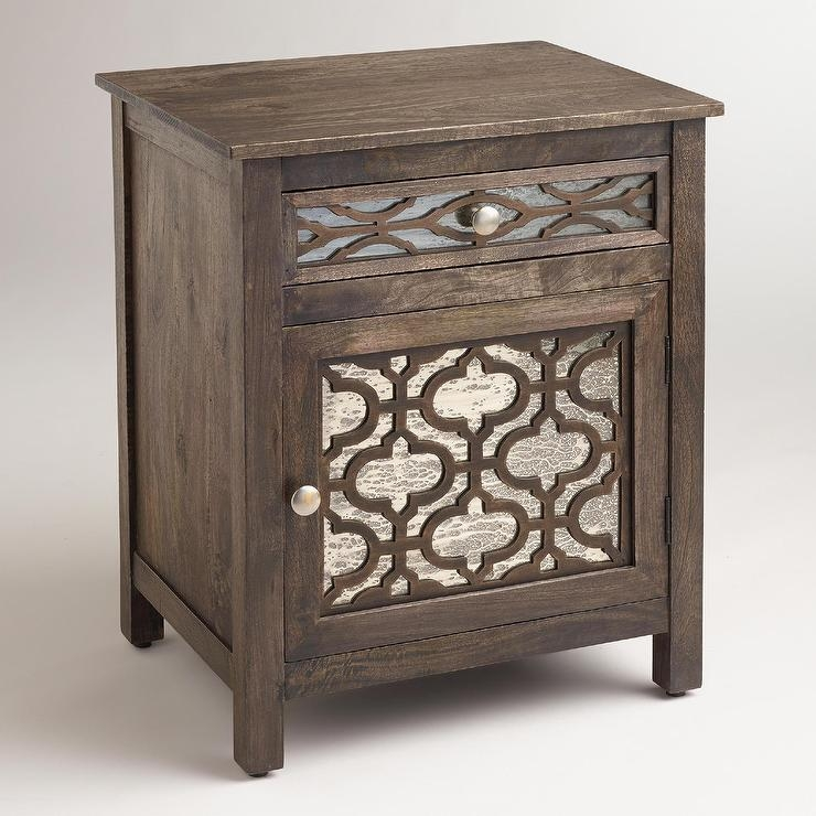 Attirant Mirror End Tables 1