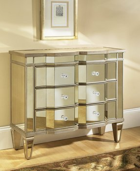 Living Room Chest Of Drawers. Mirrored glass chest of drawers Drawer Chest  Foter