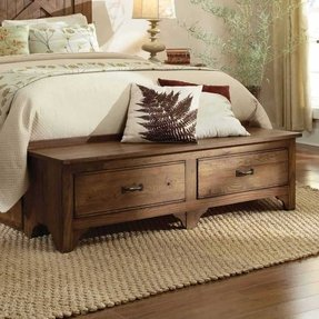 Storage Bench For Foot Of Bed - Foter
