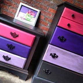 Purple Nightstands Foter
