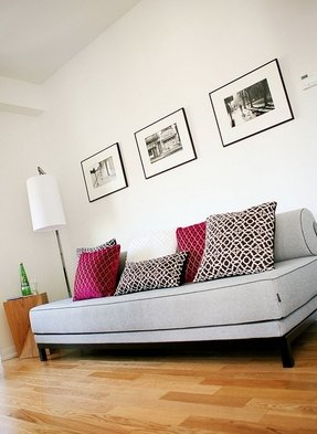 Pillow back couch