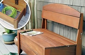 Pine Storage Benches Ideas On Foter