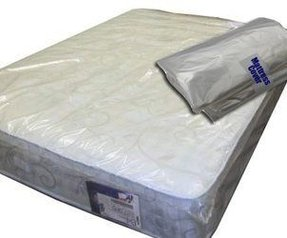 depot product queenking plastic protective mattress storage self cover queen king
