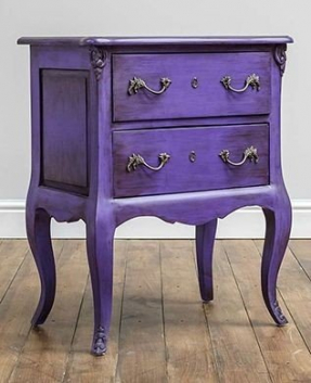 Purple bedroom furniture 1