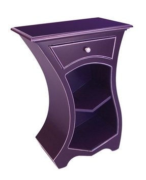 Purple nightstands