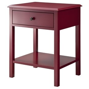 Red end tables