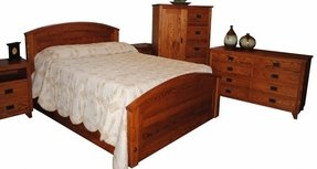 Red Oak Bedroom Furniture 1