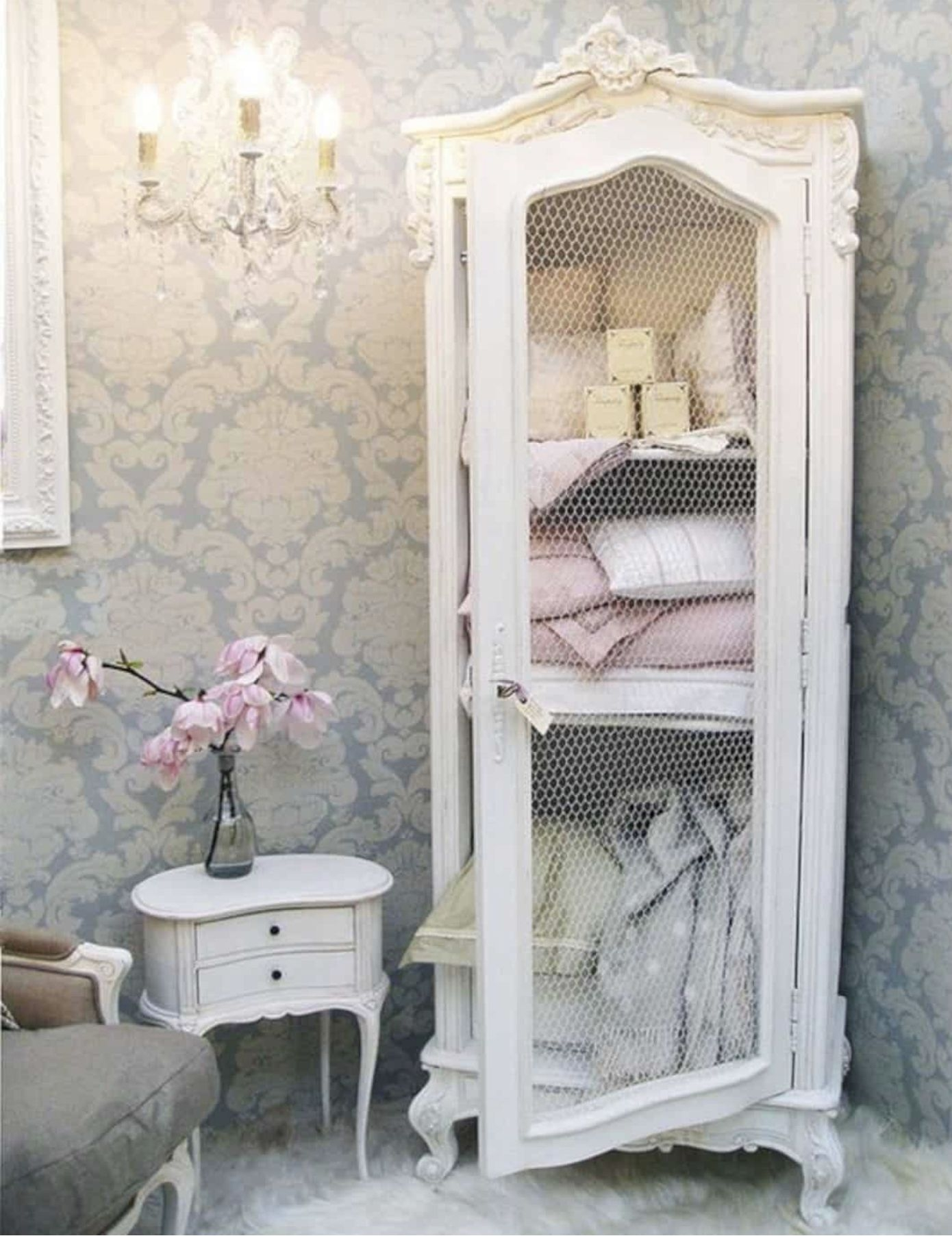 Genial Shabby Chic Cabinets