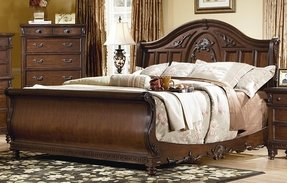 Sleigh bed bedroom sets 12