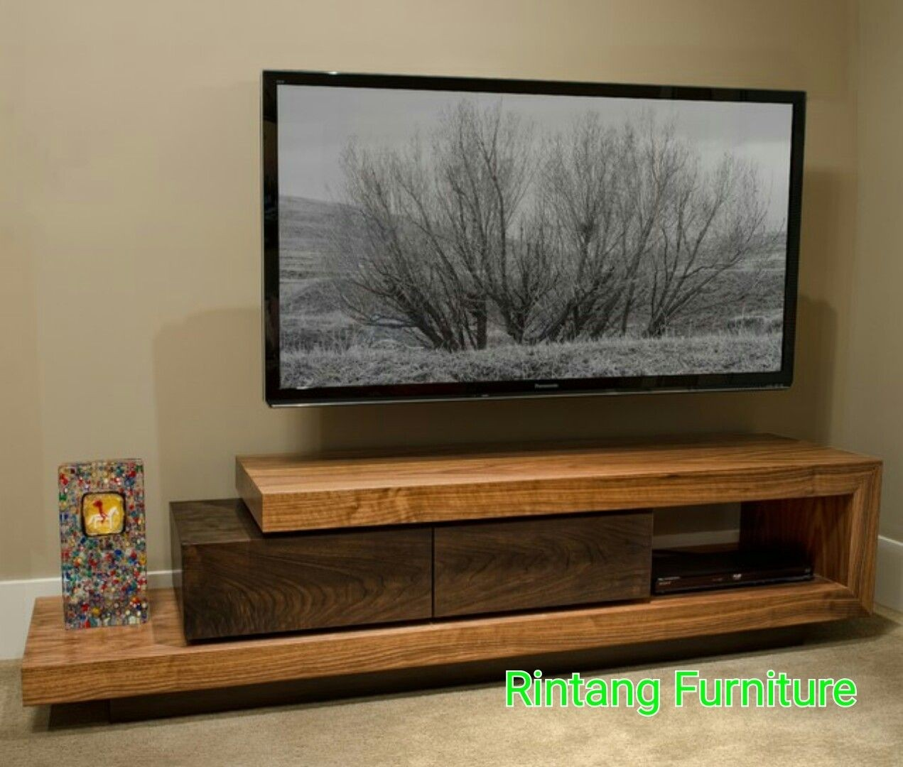 Solid wood tv stands