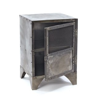 Steel nightstands