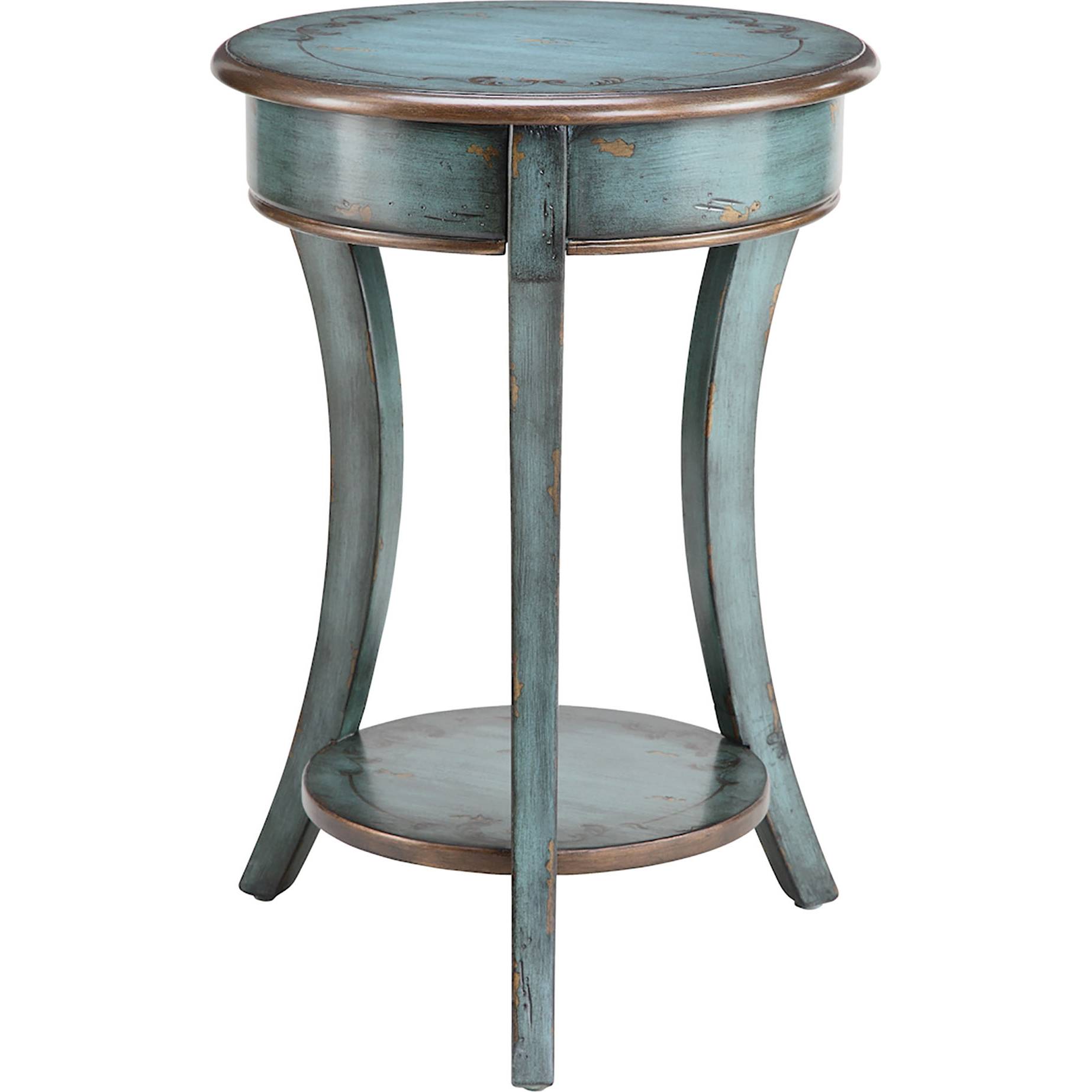 Charmant Stein World Painted Treasures End Table
