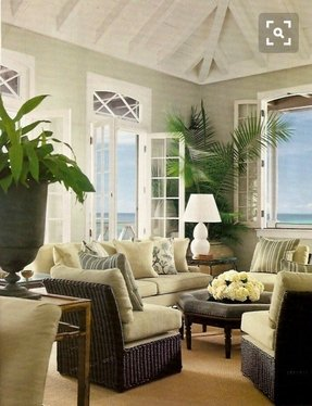 Tropical Living Room Furniture Ideas