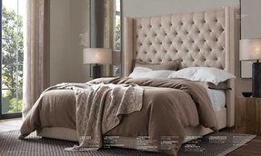 Tufted Headboard With Wood Frame 2