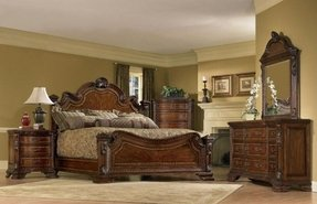 Traditional Bedroom Sets. unique design traditional queen panel ...