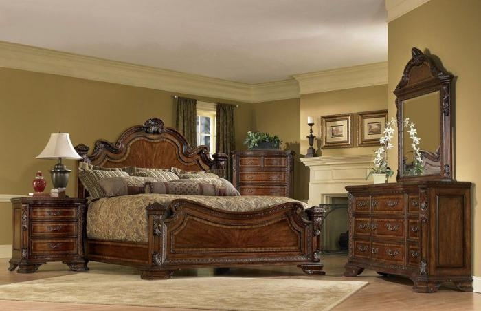 Tuscan Style Bedroom Sets