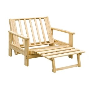 Twin futon chair
