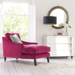 Upholstered Chaise Lounge Chairs - Ideas on Foter