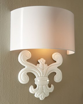 Wall sconce covers
