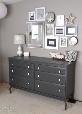 White And Grey Bedroom Furniture