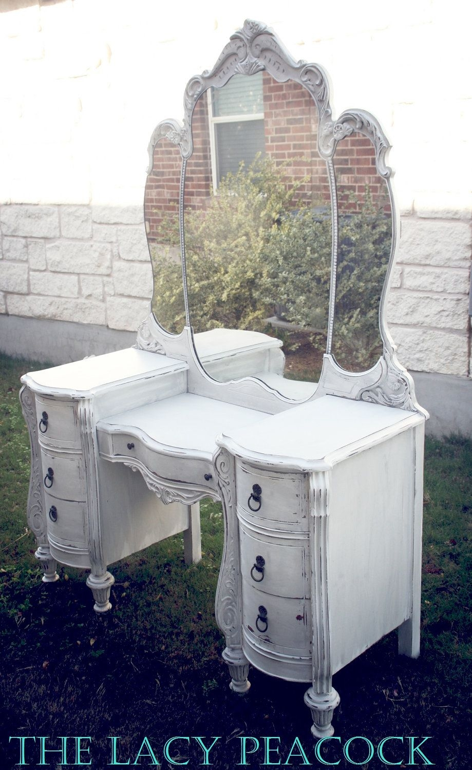 - Antique White Vanity Table - Ideas On Foter
