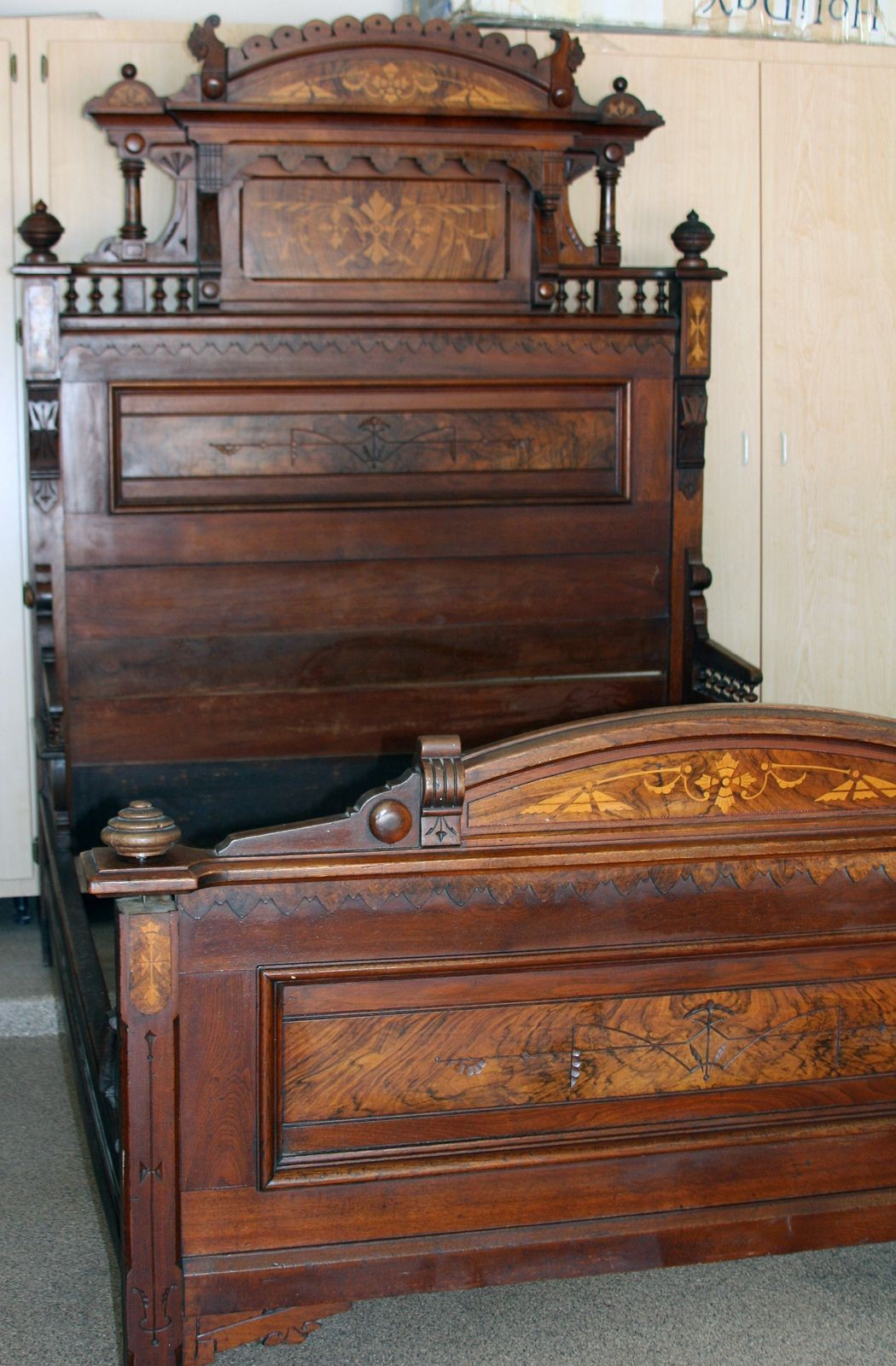 White Victorian Bedroom