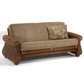 Wicker futon