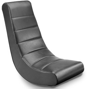 Adult Size Video Rocker in Classic Black