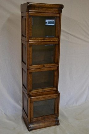 Arts and Crafts Barrister Bookcase