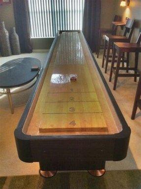 Bar Shuffleboard Table - Foter