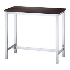 Black bar height table