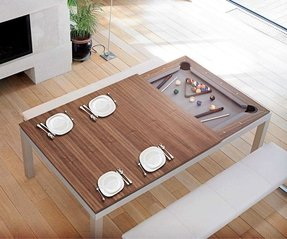 Dining ping pong table