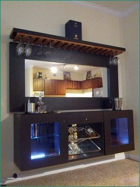 Glass home bar furniture 1